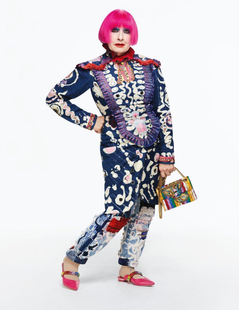 Designer Icon Award: Zandra Rhodes 1