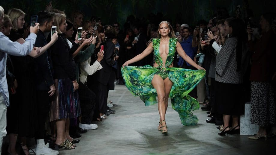 Versace Milan Fashion Show
