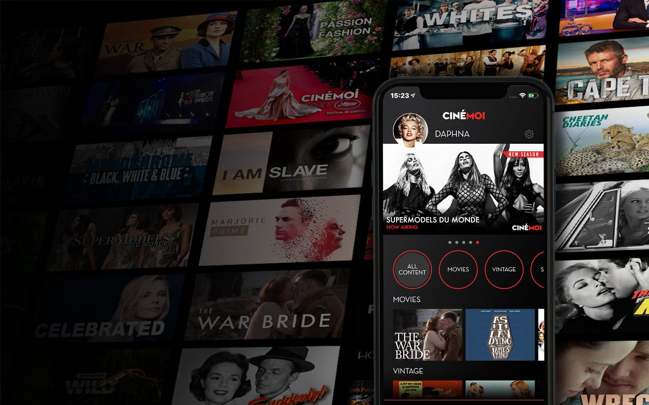 Cinemoi iOS app - Watch classic and modern movies
