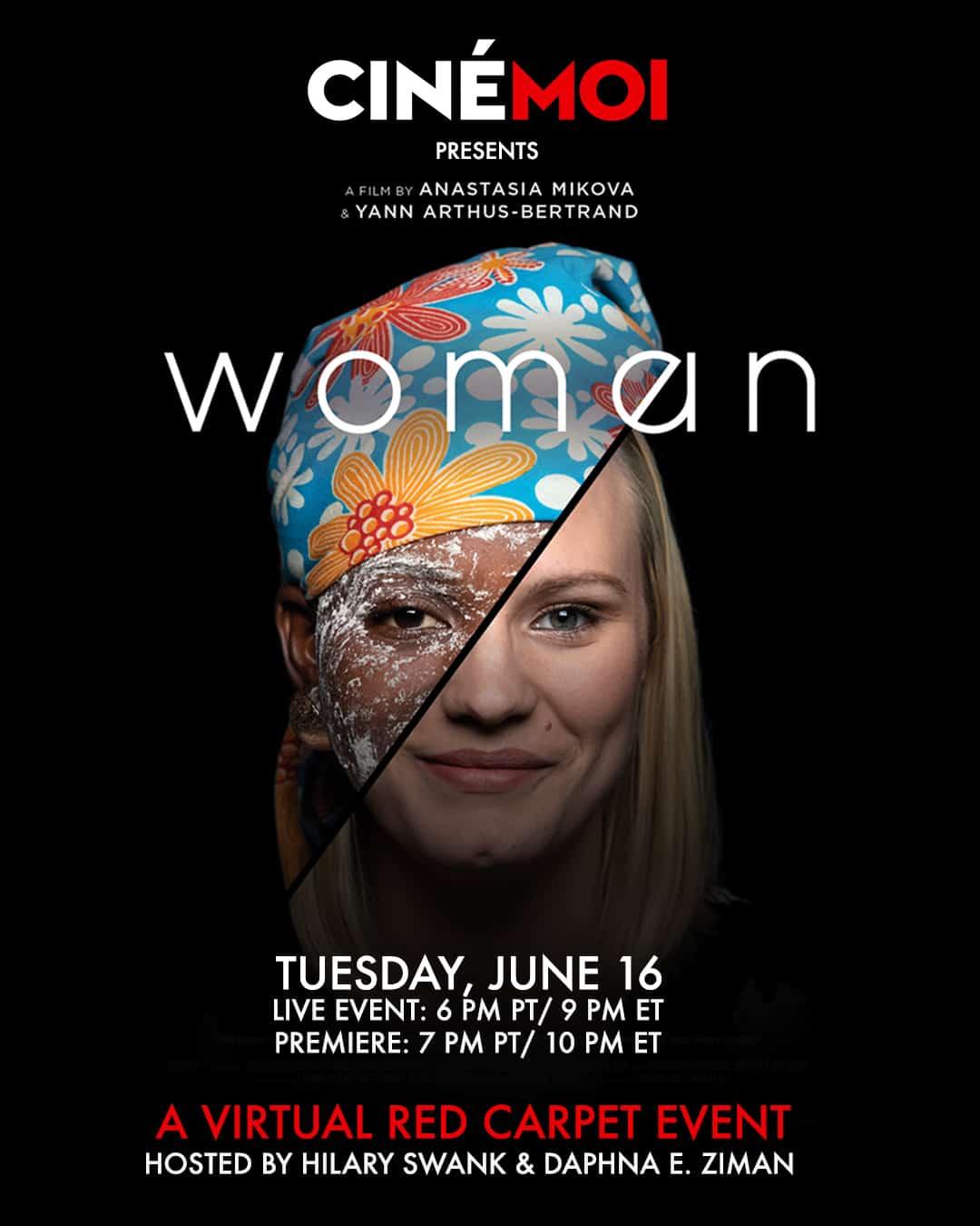 'WOMAN' Virtual Red Carpet Event & Screening 1