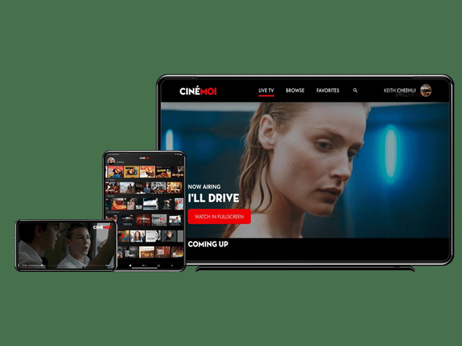 Cinémoi on all your devices