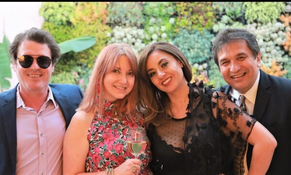 Ion Muj, FRFF Co-founder Nicole Muj, Grammy Winners Paulina and Pablo Aguirre