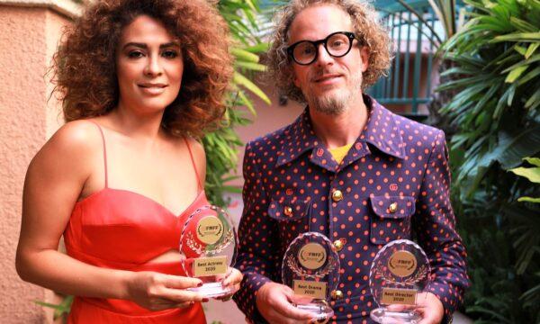 Yasmine Al Massri Best Actress and Brandt Anderson Best Director Refugee