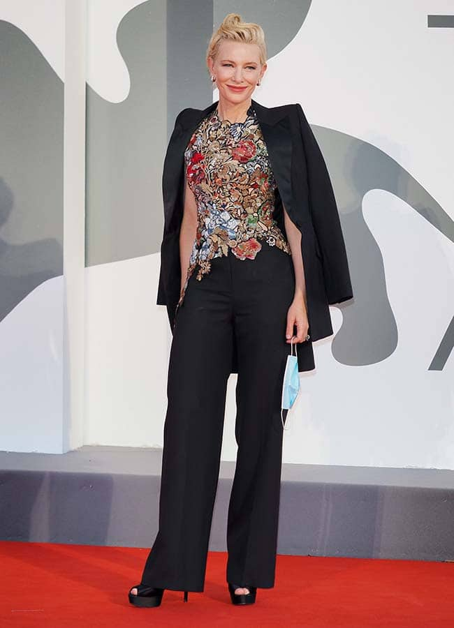 Cate Blanchett is a Sustainable Style Icon at the 2020 Venice Film Festival 6