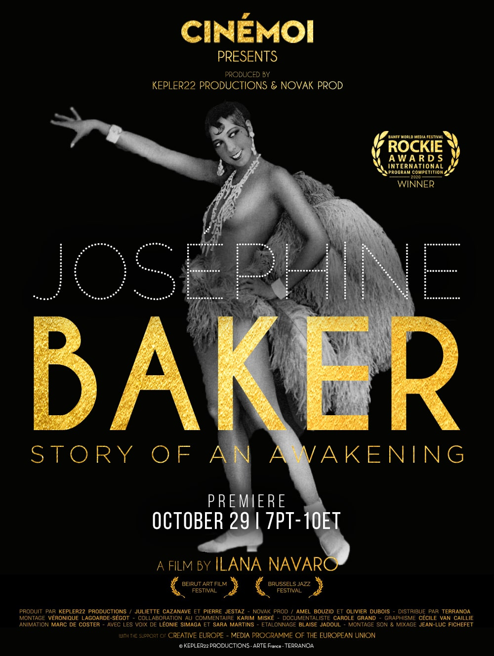 CINÉMOI Hosts Virtual Premiere in Honor of the First Black Superstar, Josephine Baker 1