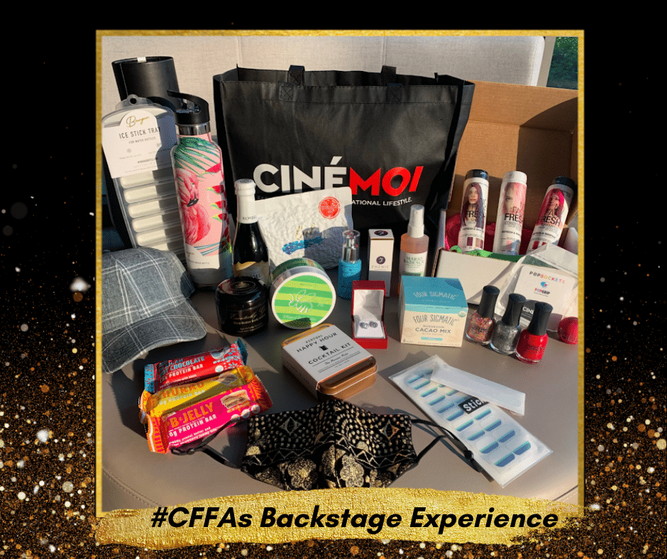 VIP SWAG GIVEAWAY! Jae Joseph hosts The CFFAs Backstage Experience 1
