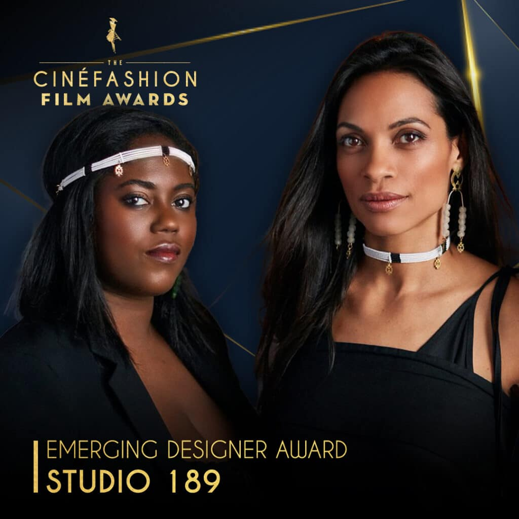 Rosario Dawson & Abrima Erwiah to receive Emerging Designer Award at the 2020 CinéFashion Film Awards 1