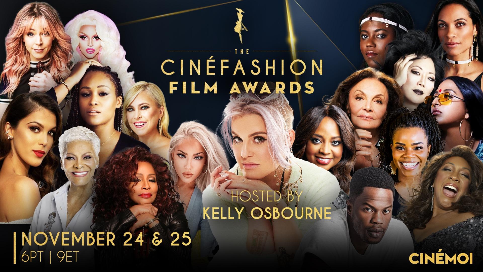 The 2020 CinéFashion Film Awards hosted by Kelly Osbourne