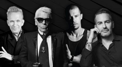 Designer Icons Jean Paul Gaultier Marc Jacobs Alexander McQueen Karl Lagerfeld
